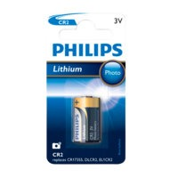 CR2 3V 1/pakk., Philips