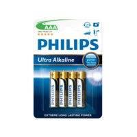 Ultra Alkaline AAA -paristot, 4/pakk., Philips
