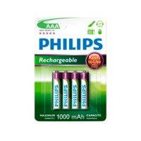 akut NiMH Ready AAA/1000, 4/pakk., Philips