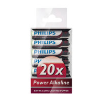 Power Alkaline AAA 20/pakk., Philips
