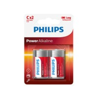 Power Alkaline C LR14 2/pakk., Philips