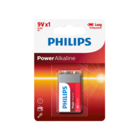 Power Alkaline 9V, Philips