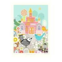 Blueberry bird juliste, Majvillan