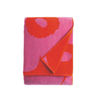 Iso Unikko-kylpypyyhe, 75x150 cm, Marimekko