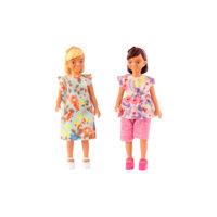 Kaksi tyttönukkea, Lundby
