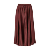Hame Della Satin Skirt, Lexington