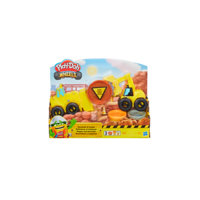Wheels Excavator N Loader, Play-Doh