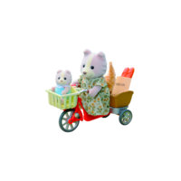 Cycling with Mother, Sylvanian Families