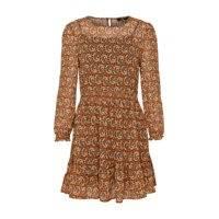 Mekko onlKiara Chiffon L/S Short Dress, Only