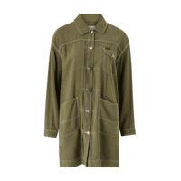 Takki Elongated Duster Coat, Lee
