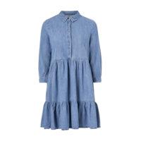 Mekko onlEnya Life 3/4 Sleeve Medi Dnm Dress, Only