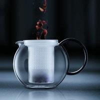 Assam teekannu muovisihdillä 1L