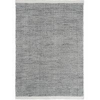 Linie Design Asko - villamatto, musta-valkoinen, 170 x 240 cm