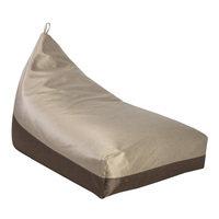 Säkkituoli GRANITE 130x80x20/70cm, beige/ruskea, 100% polyesteri, kangas 769/768