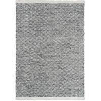 Linie Design Asko - villamatto, musta-valkoinen, 200 x 300 cm