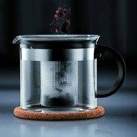 BISTRO NOUVEAU -teepressokannu 1,5 l korkkialustan kera