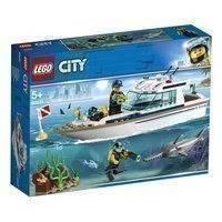 Lego City Great Vehicles 60221 Sukellusjahti