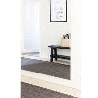 VM Carpet Barracuda-sisalmatto, harmaa, 80 x 150 cm