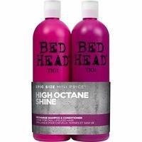 TIGI Bed Head High Octane Shine shampoo 750 ml + hoitoaine 750 ml