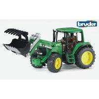 Bruder John Deere 6920 traktori etukuormaajalla