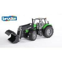 Bruder Deutz Agrotron traktori X720 etukuormaajalla