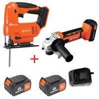 Daewoo 2 osainen akkutyökalupakki + 2x 4Ah akku ja laturi, daewoo power tools
