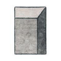 Rug Solid Illusion - matto, harmaa, 140 x 200 cm