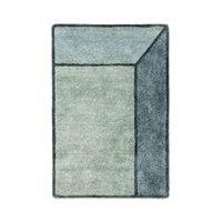 Rug Solid Illusion - matto, sininen, 140 x 200 cm
