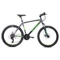 """Capriolo Oxygen maastopyörä 29"""" hopea-vihreä, runko 19"""
