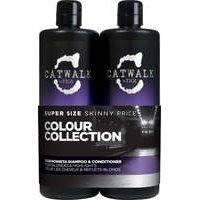 Tigi Catwalk Fashionista Violet shampoo lahjapakkaus 750 ml, tigi