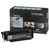 Lexmark Värikasetti musta 10.000 sivua return, High Yield, UNISYS