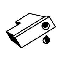 Mita Rumpu värijauheen siirtoon musta, OCE