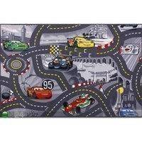 Lastenhuoneen matto WORLD OF CARS 2 133x133 cm