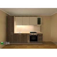 Baltest keittiö 280 cm