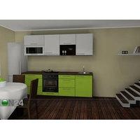 Baltest keittiö Carmen 3 PLXK, Baltest Mööbel