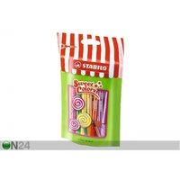 Kuitukärkikynät Lollipop Stabilo Pen 68, 15 väriä