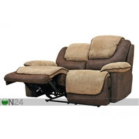 2-istuttava sohva Relax5, kullanruskea/ beige, BM