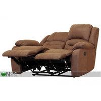 2-istuttava sohva Relax2, kullanruskea, BM