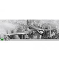Keittiön työtason tausta Airplane 350x60 cm, ED