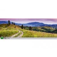 Keittiön työtason tausta Blooming Hills 180x60 cm, ED