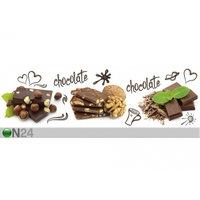 Keittiön työtason tausta Chocolate 180x60 cm, ED