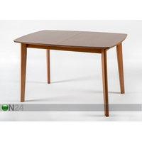 Jatkettava ruokapöytä BARI 80x120-150 cm, pähkinä, GO