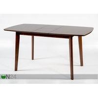 Jatkettava ruokapöytä Bari 80x120-150 cm, vaalea wenge, GO