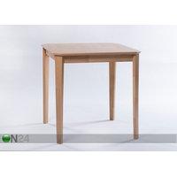 Ruokapöytä Loreta 75x75 cm, luonnonsävy, GO