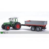FENDT 209S traktori+peräkärry 1:16 BRUDER