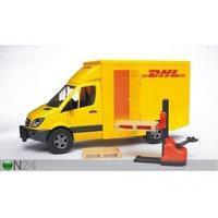 MB SPRINTER DHL pakettiauto+trukki 1:16 BRUDER
