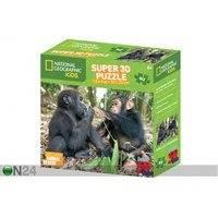 Palapeli 3D Simpanssi ja gorilla 63 osaa, Kidicraft