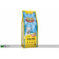 Hau-Hau Champion täysravinto kana ja riisi täyskasvaneelle koiralle 15 kg