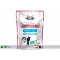 Hau-Hau Champion Super Premium täysravinto lohi ja peruna täyskasvaneelle koiralle 1,5kg