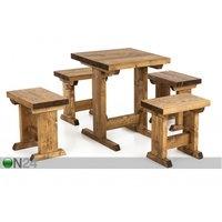 Puurhapöytä ja 4 penkkiä, MSL